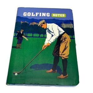 Golfing Notes (Journal) Golf Notebook NEW